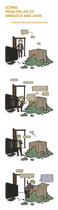 Scenes from the Life of Sherlock and John II by ~portmanteau-press on deviantART