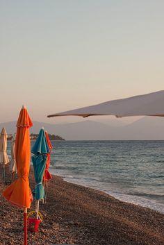 Bay of Corinth, Greece. Photo by Trish Papadakos.
