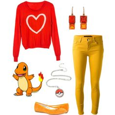 Charmander by smilelikeyoucan on Polyvore featuring dVb Victoria Beckham