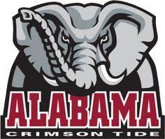 Printable Alabama Crimson Tide Logo
