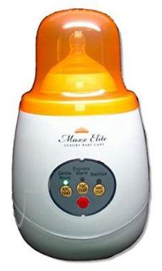 Maxx Elite Gentle Warm Smart Bottle Warmer and Sterilizer