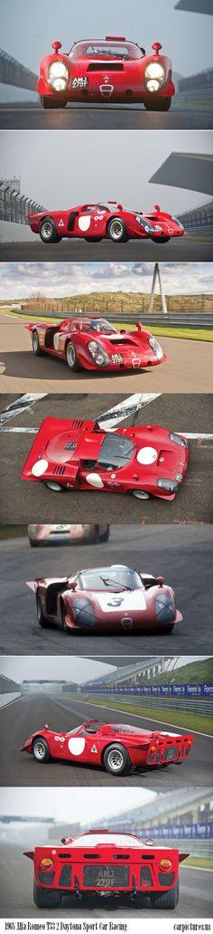 """1968 Alfa Romeo T33 2 """"Daytona"""" Sport Car Racing"""