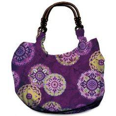 Daisy Kingdom Craft Kit Reversible Hobo Tote, Medallion Burst and Purple $16.98