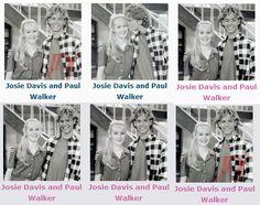 Josie Davis and Paul Walker in Charles in Charge.