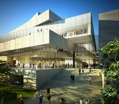 henning larsen architects: siansa national concert hall