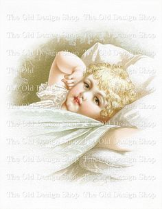 AFTER SLEEP Mary Lathbury Vintage Printable by TheOldDesignShop, $3.50