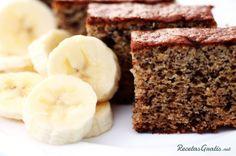 Receta de Pastel de banana