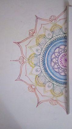 Mandala art Mandala Art, Tapestry, Home Decor, Dressmaking, Hanging Tapestry, Tapestries, Decoration Home, Room Decor, Home Interior Design