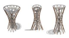 Creative Architecture, School Architecture, Bamboo Structure, Lookout Tower, Urban Planning, Atrium, Glass Vase, Street Art, Design
