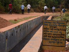 Pucca Drain constructed at Kalaikunda GP, Paschim Medinipur from ISGPP (FY 2014-15)