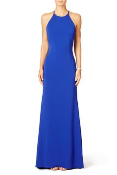 Rent Cobalt Racing Gown by Badgley Mischka for $100 only at Rent the Runway.