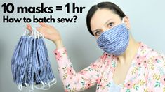 Tutorial on How to BATCH sew masks for hospitals! - Informations About Tutorial on How to BATCH sew masks for hospitals! Pin You can easily use my prof - Sewing Patterns Free, Free Sewing, Sewing Tutorials, Sewing Hacks, Sewing Crafts, Free Pattern, Sewing Tips, Small Sewing Projects, Easy Face Masks