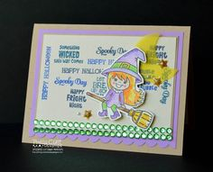 Sunnyside Up: Something Bewitching...  http://prettycutestamps.com