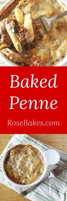 Baked Penne - hearty