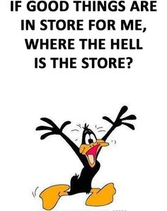 Funny Animal Pictures, Funny Images, Funny Animals, Classic Cartoon Characters, Classic Cartoons, Funny Cartoon Quotes, Funny Sayings, Duck Quotes, Cross Stitch Fairy