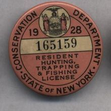 1929 ontario depart of game fisheries gun hunting for New york fishing license online