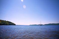 Cruising up the Hudson River Sailing Chance