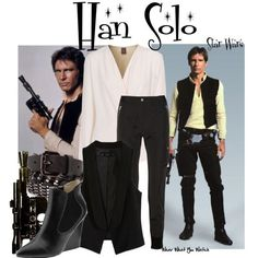 I want to be Han Solo for Halloween next year