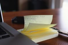 There is absolutely no way a leader can succeed without obsessively maintaining lists of resources and projects.