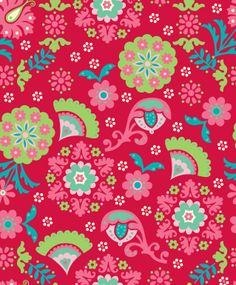 Pattern design by Silvia Dekker for Hema