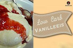 Low Carb Vanilleeis selber machen Rezept. Das Eis-Rezept kannst du ganz einfach und schnell selber nachmachen. Ich habe das Eisrezept perfekt an eine ketogene Low Carb Diät angepasst. Optimal, damit du in der Ketose bleibst und trotz Naschen schnell abnimmst. Zutaten 450 ml Schlagsahne, 30% 5 Eigelb 150 g Erythrit 1 TL Bourbon Vanille 1 Fläschchen Vanille Aroma #keto #lowcarb #lchf