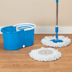 Clean Spin 360 Microfiber Mop and Bucket Set - Walter Drake