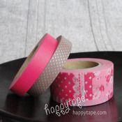 happy tape — japanese masking tape. tape galore!