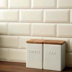 More popular than the larger subway tiles, small cream metro tiles in 6 3 size also known as 15 cream subway tiles tiles are now available Metro Tiles Kitchen, Kitchen Wall Tiles, Wall And Floor Tiles, Kitchen Decor, Cream Kitchen Walls, Beveled Subway Tile, Subway Tiles, Italian Tiles, Brick Tiles