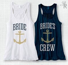 Bridal Party Tank Top Bachelorette Tank BRIDE Tank by BridalRave