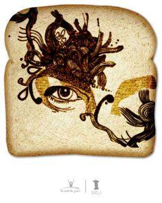 Create your own Bread art..  breadartproject.com