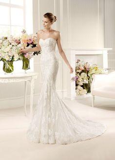 Pronovias La Sposa Mullet Wedding Dress & Bridal Gown.