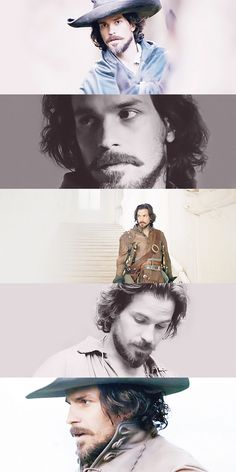 The gorgeous Santiago Cabreras - The Musketeers - Aramis