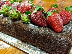 Κέικ Φράουλας Νηστίσιμο