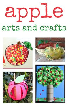 apple art and apple crafts