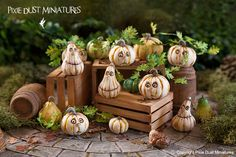 Pixie Dust Miniatures: The Return of Enchanted Gourds