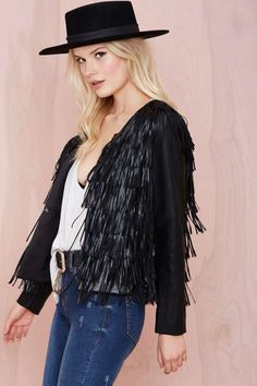 WYLDR Show Off Faux Leather Jacket | Shop What's New at Nasty Gal