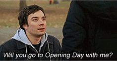 fever pitch - best line ever. Love this movie so much! Baseball, and a chick flick romantic comedy! You can't go wrong! And Jimmy Fallon is hilarious.