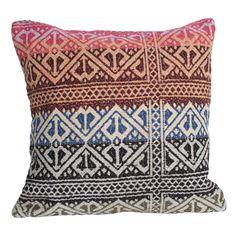 Purple Diamond Kilim Pillow