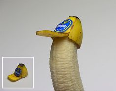 Banana Trucker Hat -  Now someone's GOT to make one for casual wear!