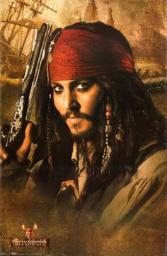 There's just something about his mannerisms and the dreads and the make-up in this movie - ahoy matey!