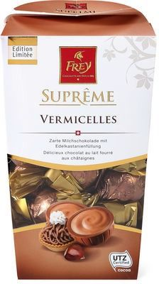 Frey Suprême Kugeln Vermicelles #Schokolade #Herbst #Winter #Marroni