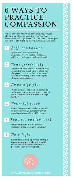 6 Ways to Practice #Compassion