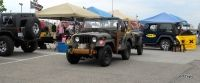 1953 Army Jeep Front View