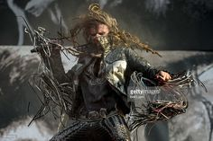 Rob Zombie performs on Day 1 of the Download Festival at Donington Park on June 13, 2014 in Castle Donington, England.