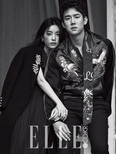 Han Hyo-joo & Yoo Yeon-seok // Elle Korea        i also ship them too, he looks manly, mature and caring to her