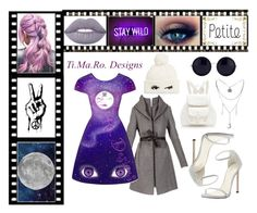 """""""Moon Child🌝 Follow me on Instagram @tiffanynonsense"""" by tmr3 ❤ liked on Polyvore featuring Soia & Kyo, Lime Crime, Kate Spade, Forever New, The Row and Stuart Weitzman"""