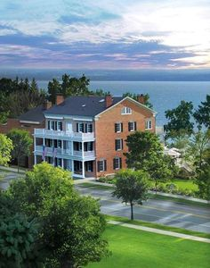 Aurora Inn, on cayuga lake..WE DROVE over here a few times with you.. For lunch...