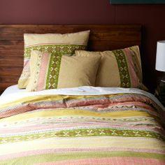 Also girls room option: Fair Isle Duvet Cover   west elm