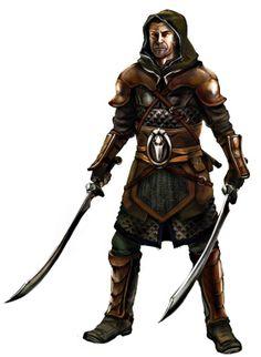 m Fighter 2 swords scale Eleo token