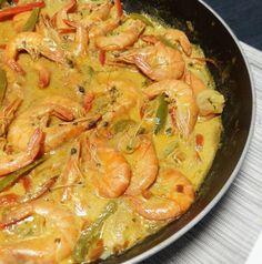 Une recette express à réaliser en à peine 20 minutes. J'ai pas arrêté de courir aujourd'hui, alors je n'avais pas envie de rester trop longtemps dans la cuisine. Voici une recette que vous pourrez réaliser en quelques minutes. On peut remplacer les crevettes...
